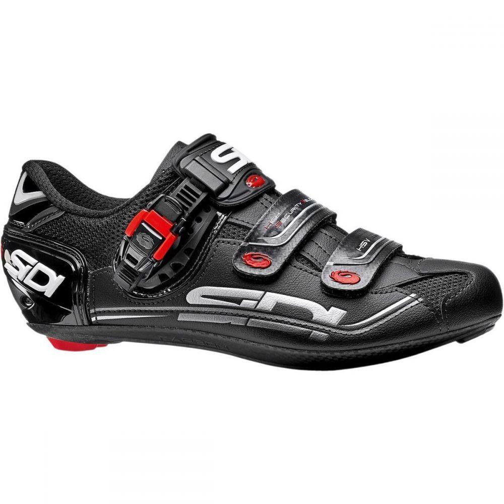 シディー メンズ 自転車 シューズ・靴【Genius Fit Carbon Mega Shoes】Black