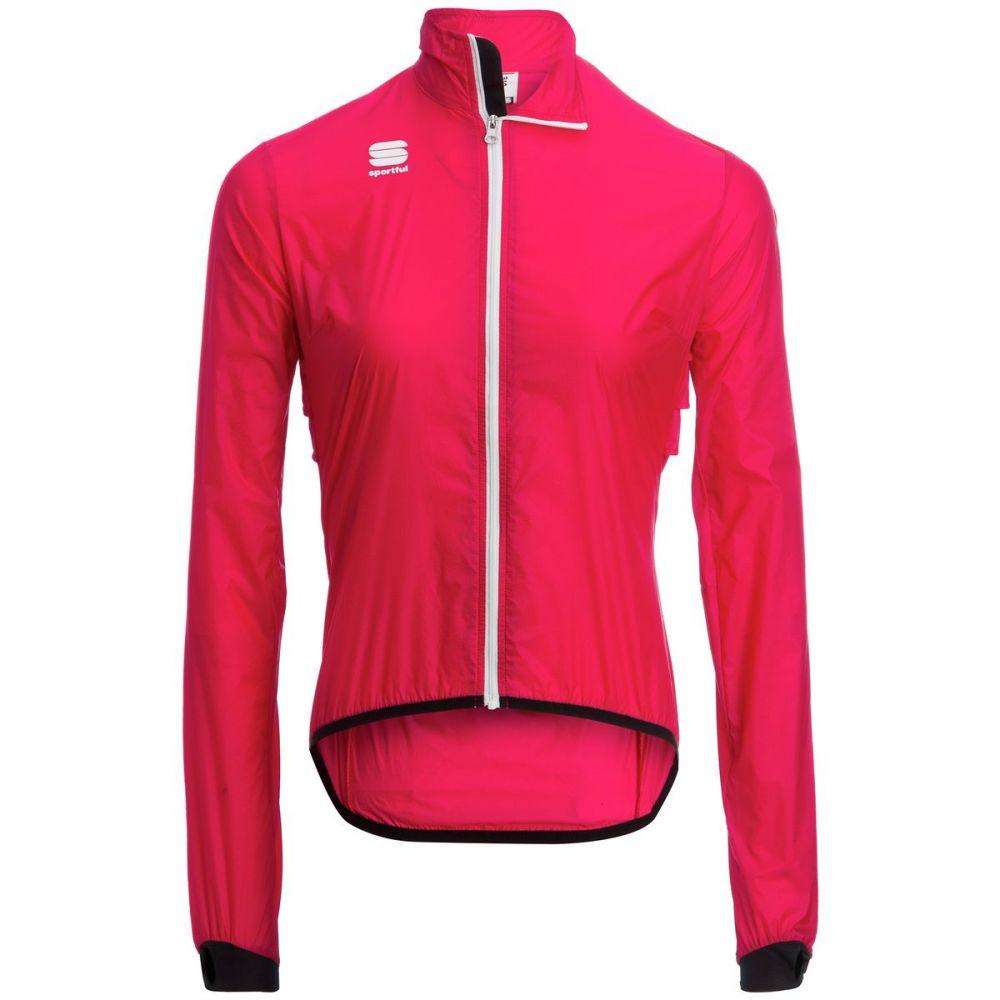スポーツフル レディース 自転車 アウター【Hot Pack 5 Jacket】Pink Coral
