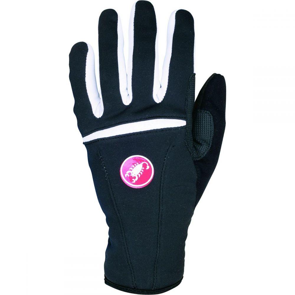 カステリ レディース 自転車 グローブ【Cromo Gloves】Black/Old Rose