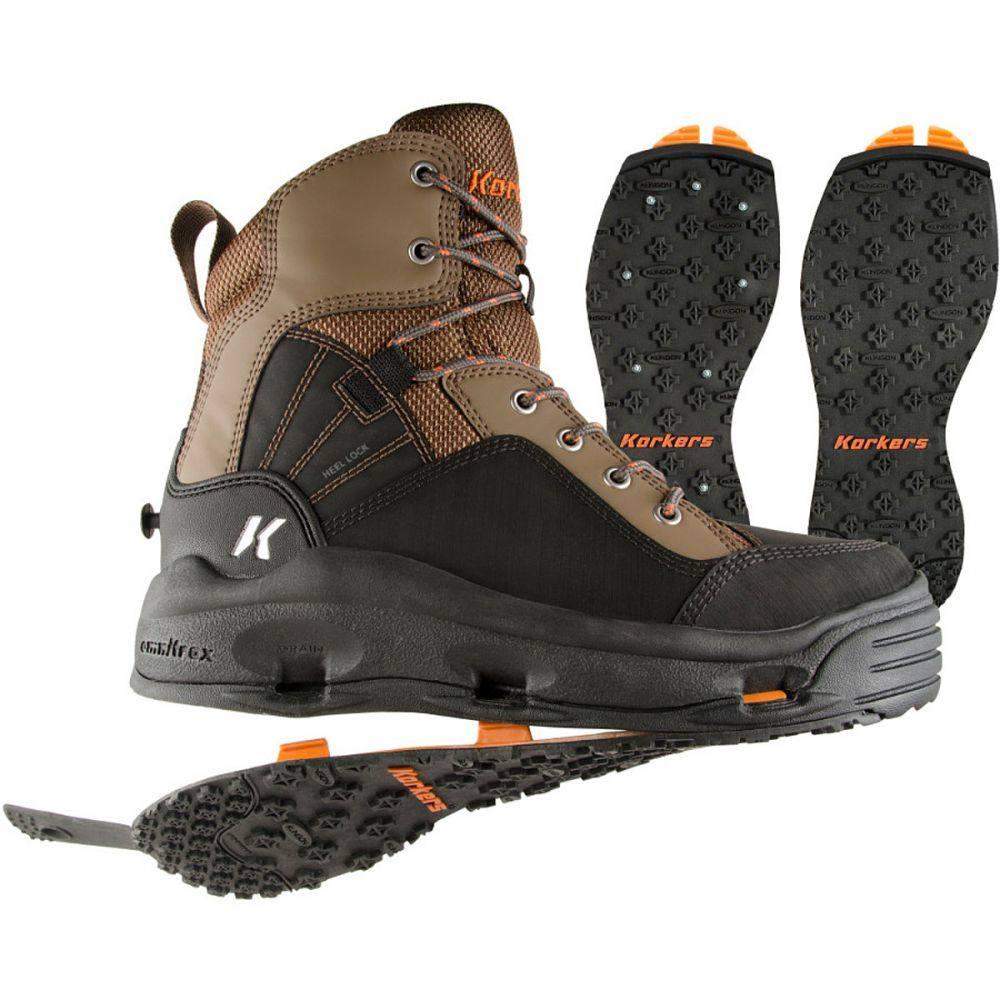 コーカーズ メンズ 釣り・フィッシング シューズ・靴【Buckskin Wading Boots】Kling-On/Studded Kling-On Soles