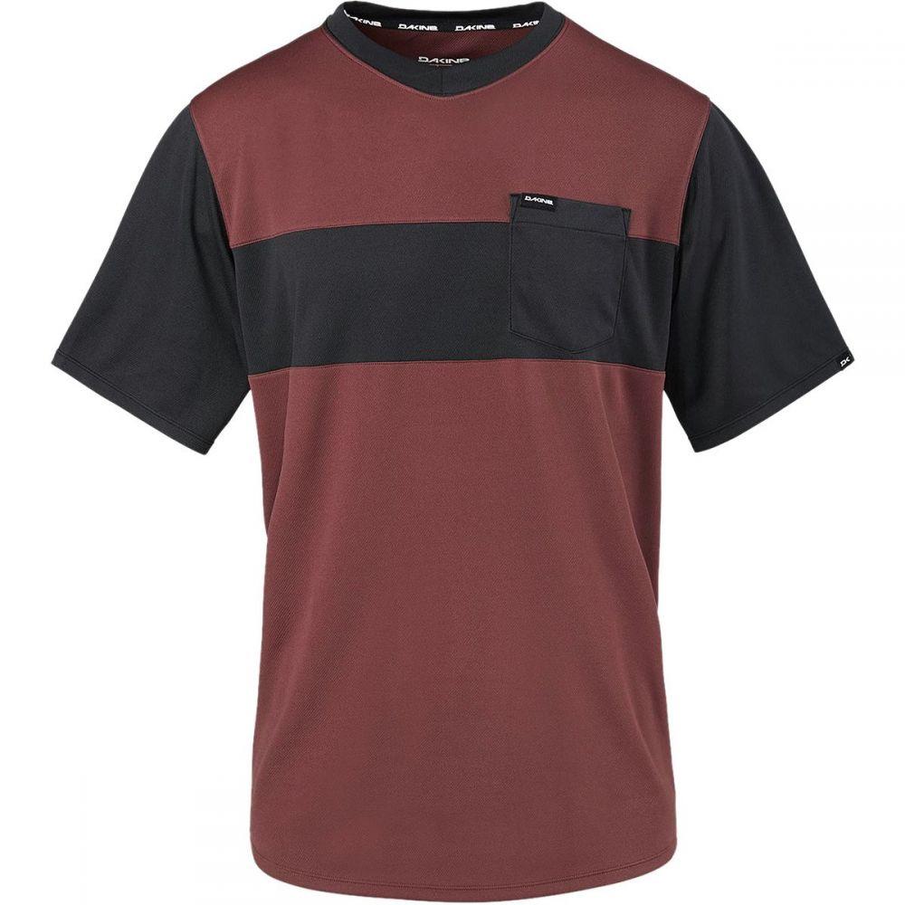 ダカイン メンズ 自転車 トップス【Vectra Short - Sleeve Jerseys】Andorra/Black