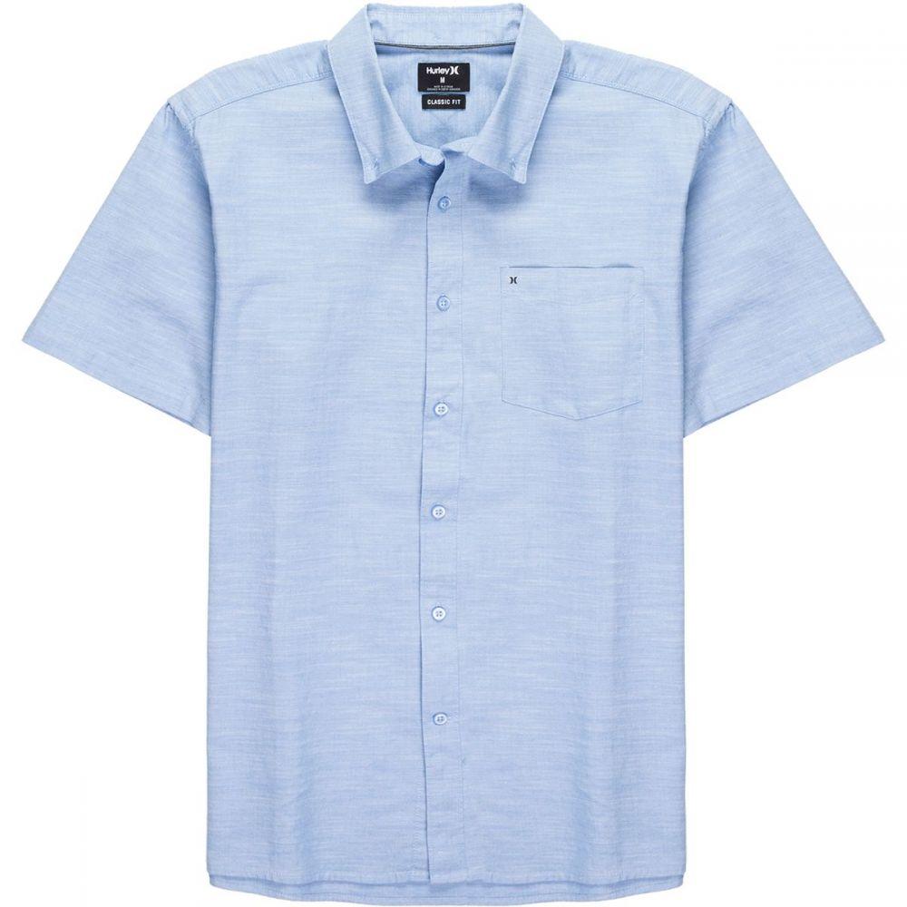ハーレー メンズ トップス 半袖シャツ【One & Only 2.0 Short - Sleeve Shirts】Blue Ox