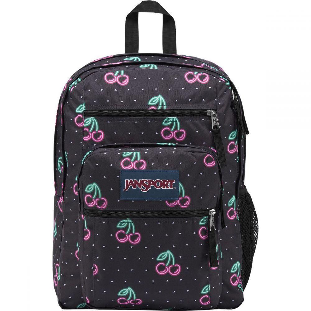 ジャンスポーツ レディース バッグ バックパック・リュック【Big Student 34L Backpack】Neon Cherries