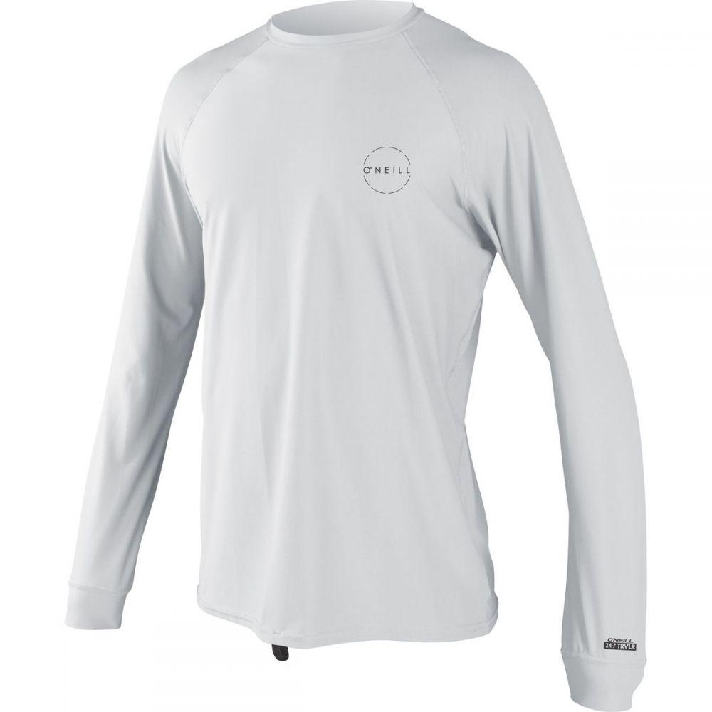 オニール メンズ 水着 -・ビーチウェア Long ラッシュガード【24 Shirts】White/White - 7 Traveler Long - Sleeve Sun Shirts】White/White, bookfan 2号店:62615e0e --- dell-p.com