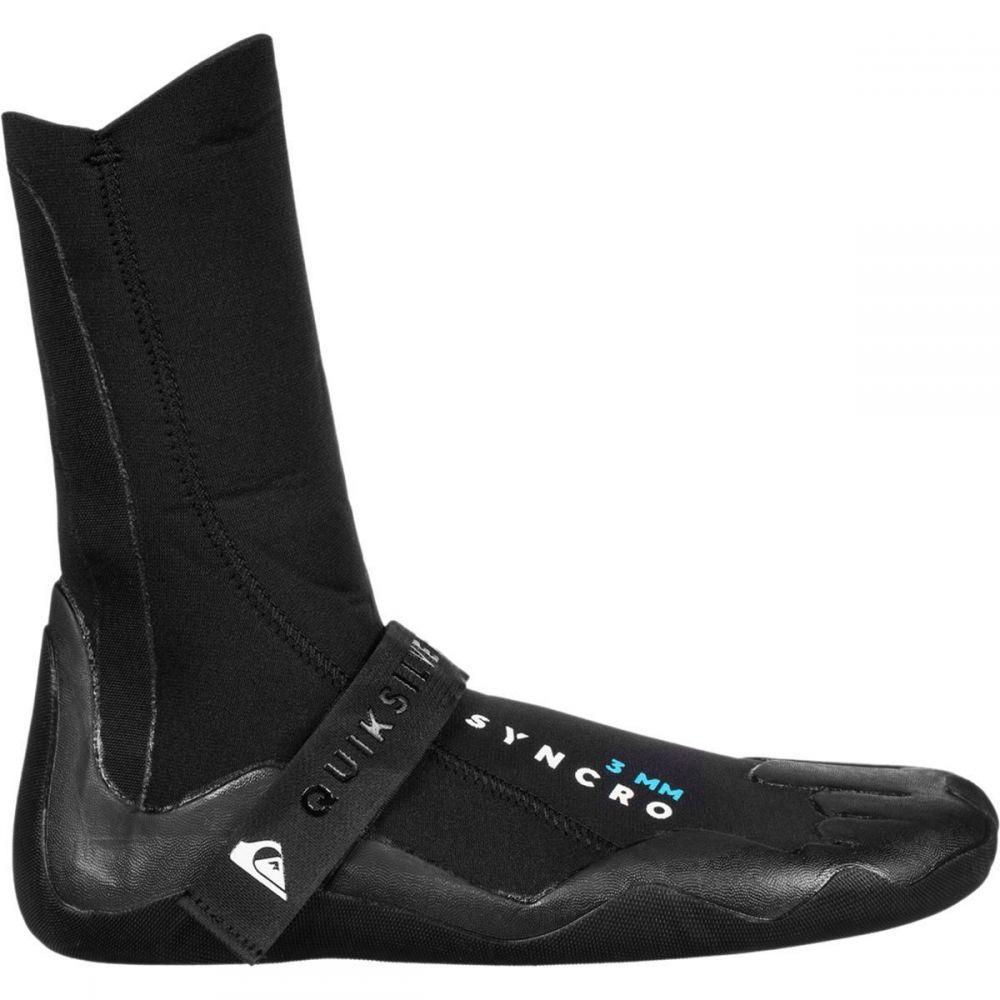 クイックシルバー メンズ サーフィン シューズ・靴【3.0 Syncro Round Toe Boots】Black