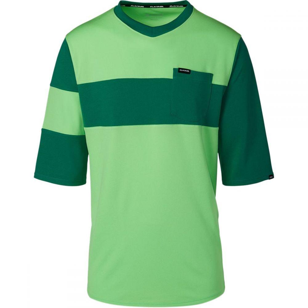 ダカイン メンズ 自転車 トップス【Vectra Jersey - 3/4 - Sleeves】Summer Green/Fir