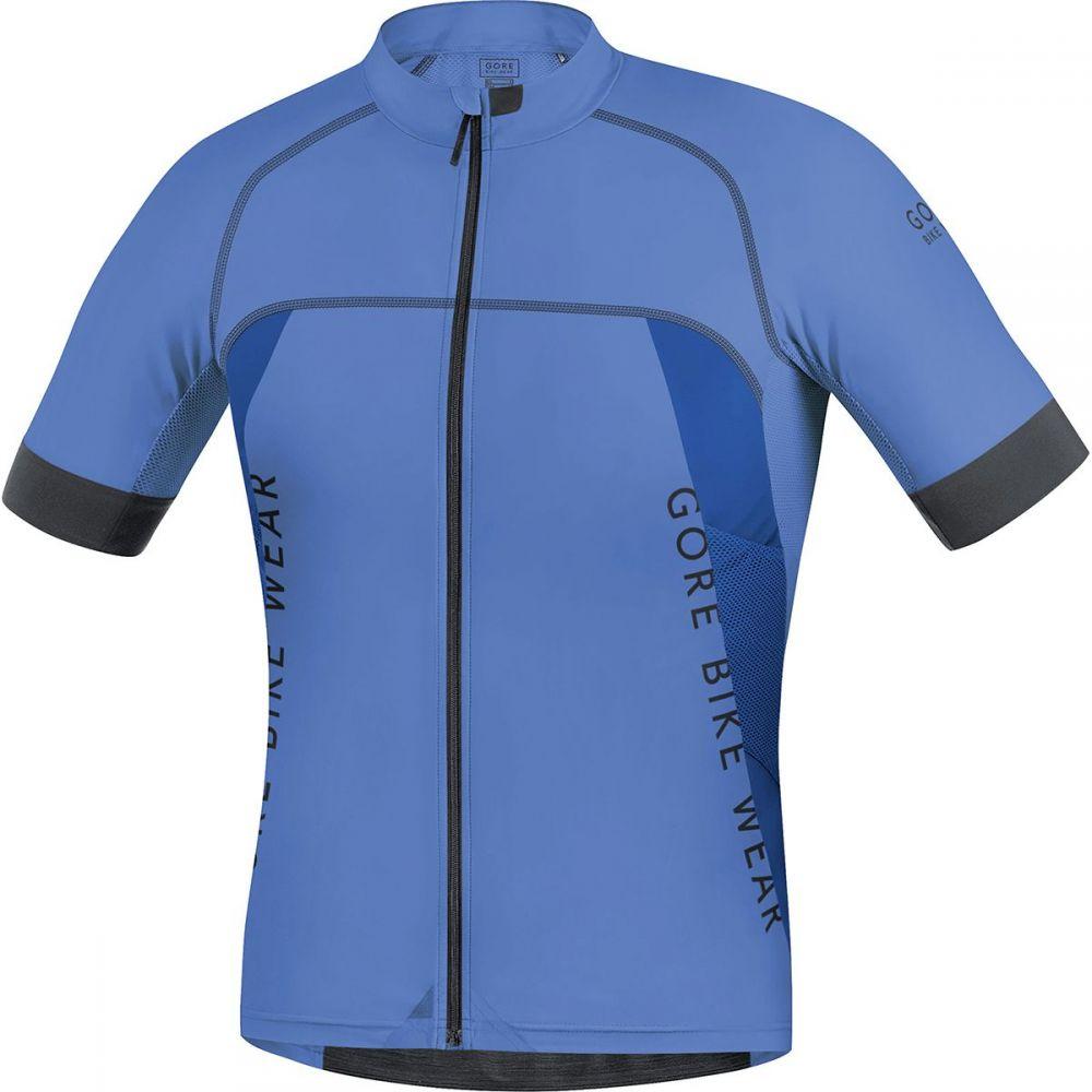 ゴアバイクウェア メンズ 自転車 トップス【Alp - X Pro Jerseys】Blizzard Blue/Brilliant Blue
