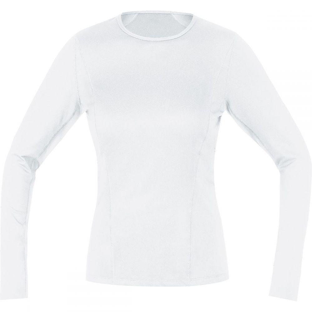 ゴアウェア レディース 自転車 トップス【Base Layer Long Sleeve Shirt】White