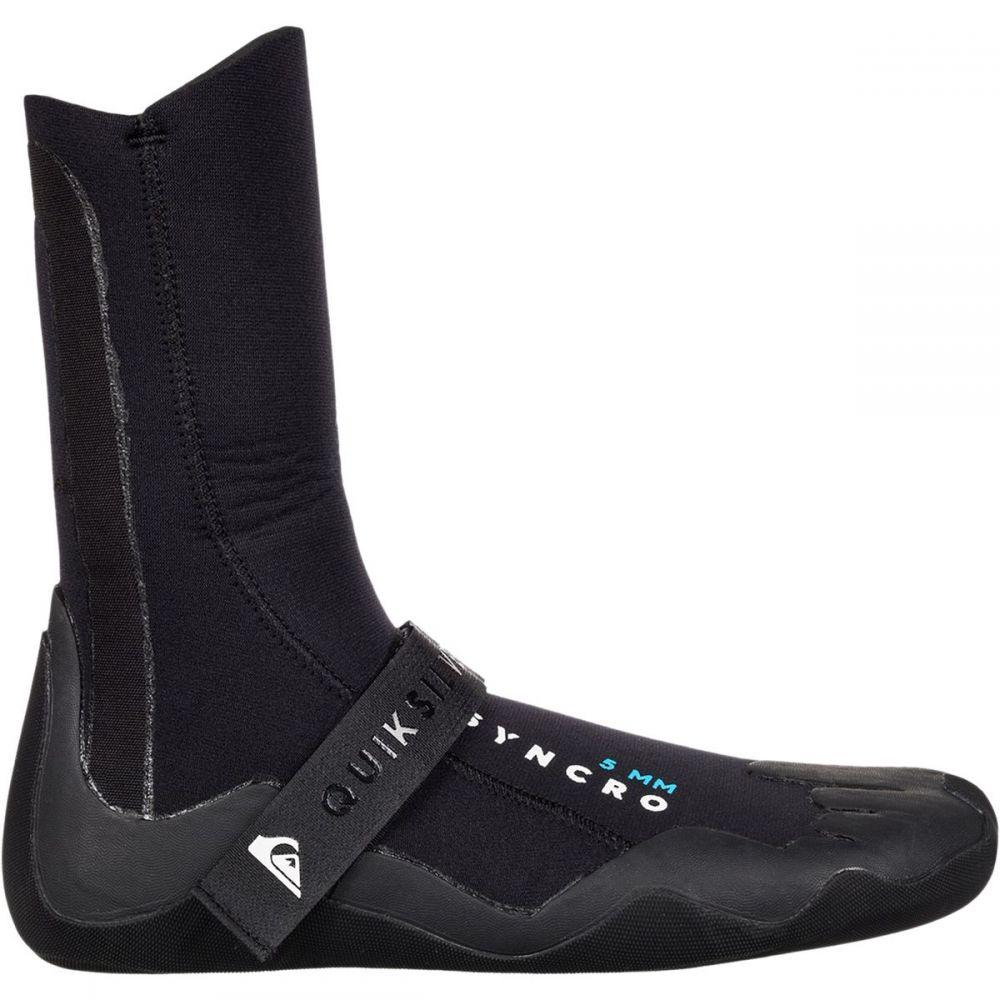 クイックシルバー メンズ サーフィン シューズ・靴【5.0 Syncro Round Toe Booties】Black