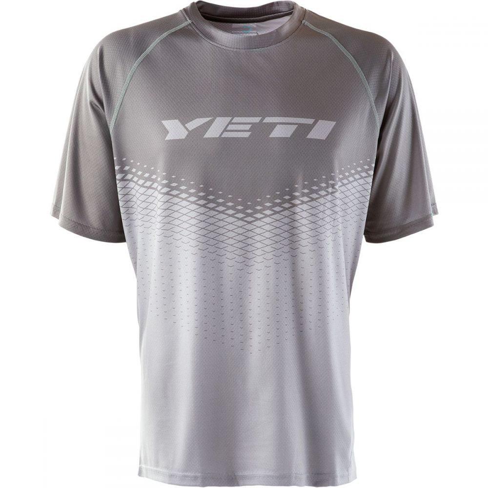 イエティーサイクル メンズ 自転車 トップス【Alder Short - Sleeve Jerseys】Magnet - Med Grey Dart
