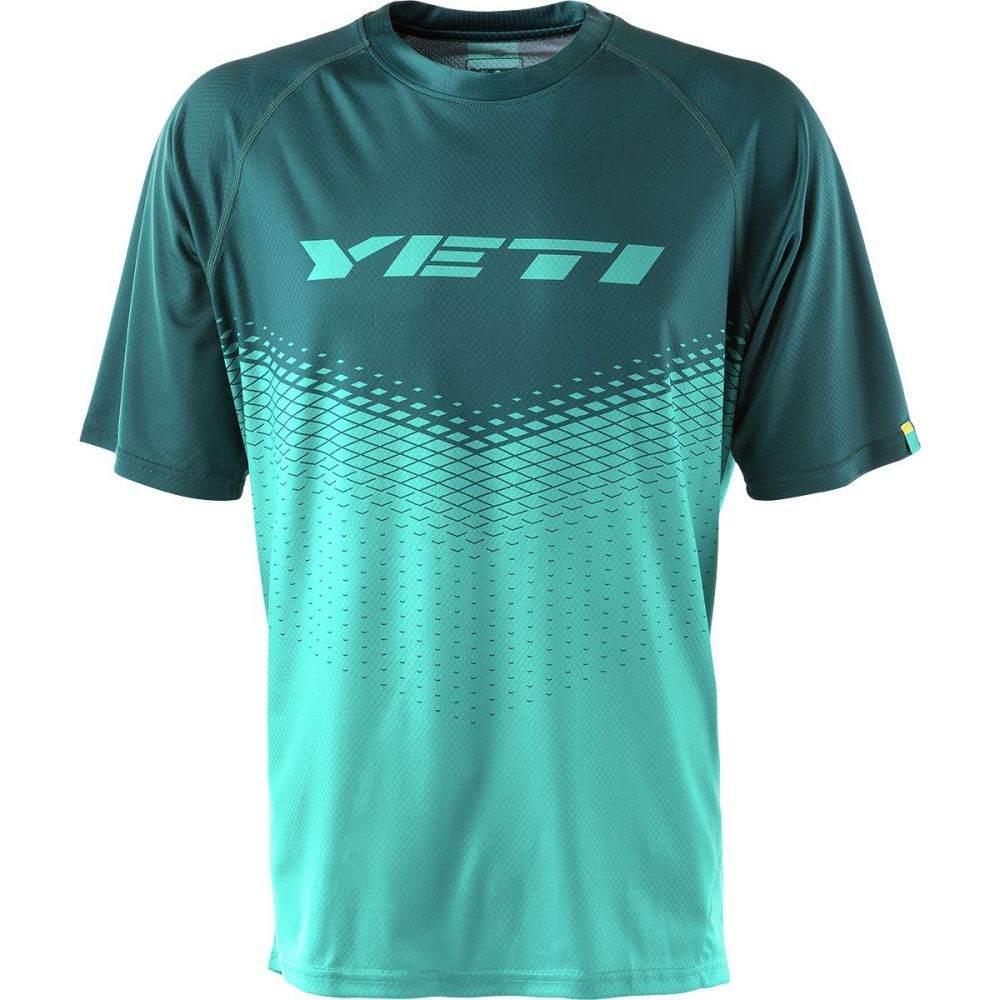イエティーサイクル メンズ 自転車 トップス【Alder Short - Sleeve Jerseys】Storm - Turquoise Dart