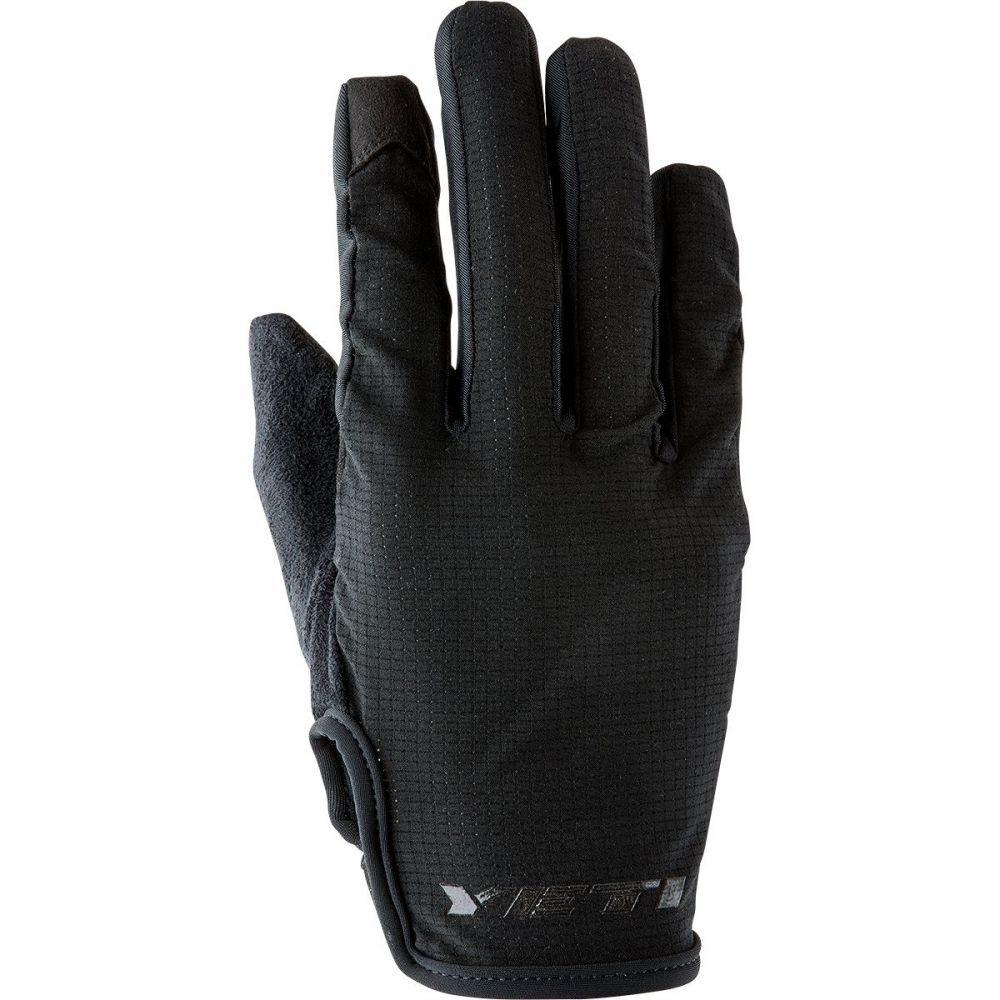 イエティーサイクル メンズ 自転車 グローブ【Turq Dot Air Gloves】Black