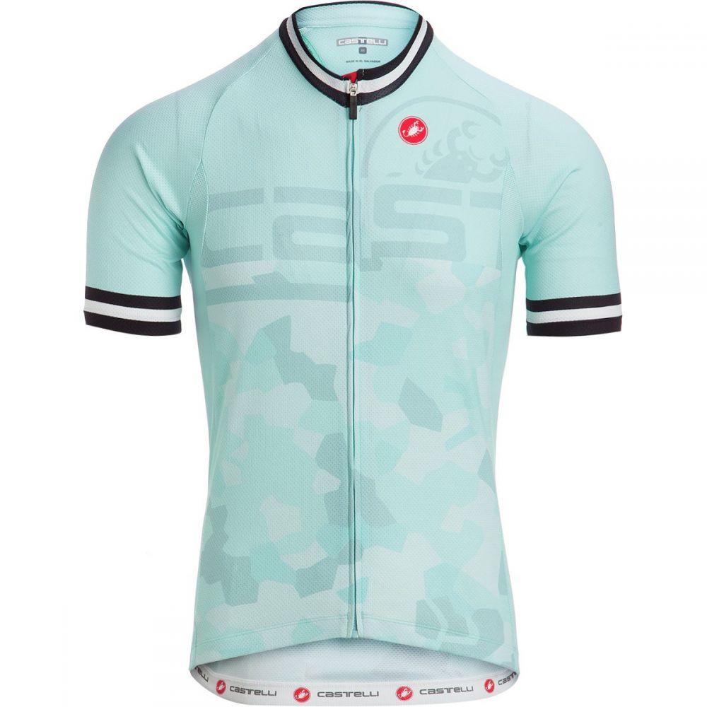 カステリ メンズ 自転車 トップス【Attacco Limited Edition Jerseys】Glacier Lake