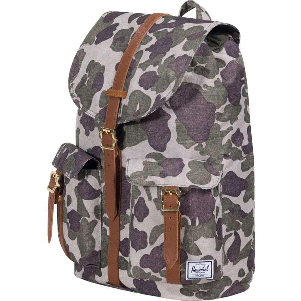 ハーシェル サプライ レディース バッグ バックパック・リュック【Dawson 20.5L Backpack】Frog Camo/Tan