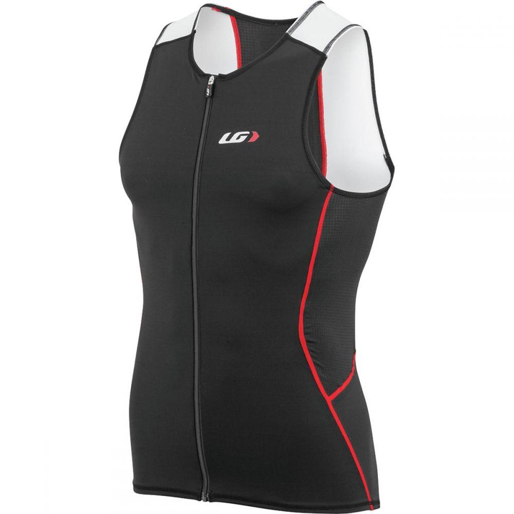ルイガノ メンズ トライアスロン トップス【Tri Comp Sleeveless Jerseys】White/Black/Red