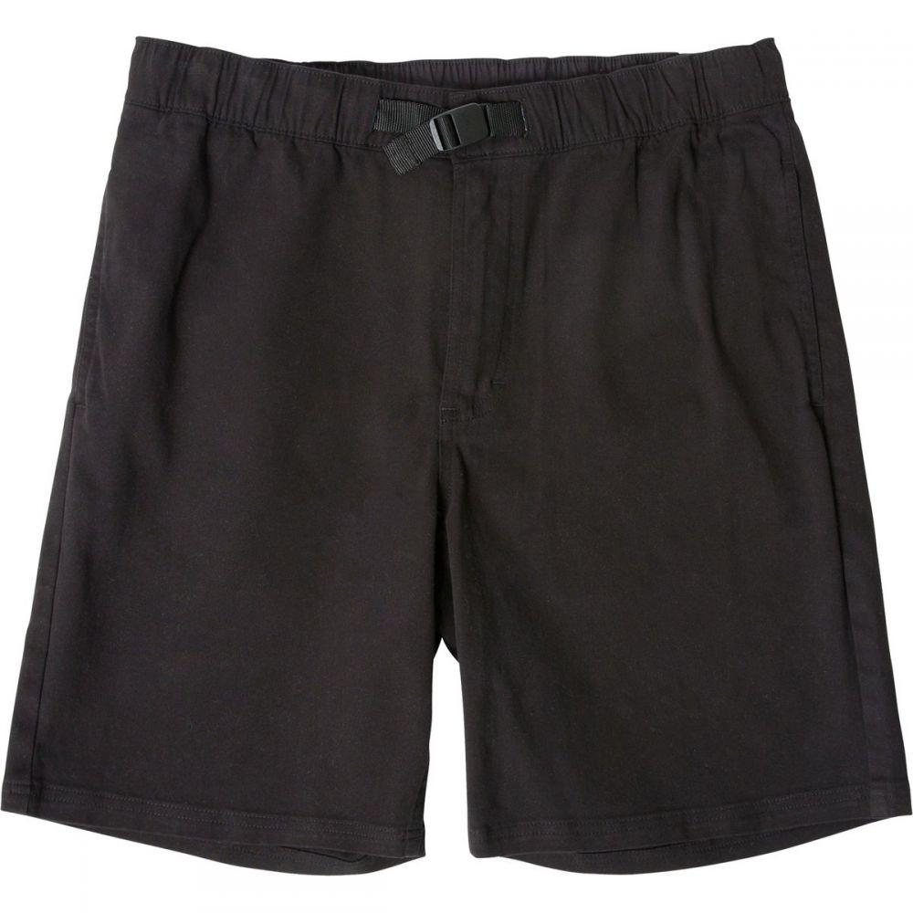 トポ デザイン メンズ ハイキング・登山 ボトムス・パンツ【Mountain Shorts】Black