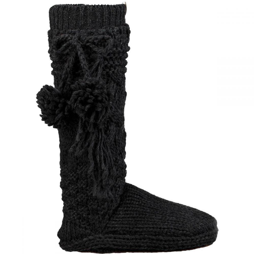 アグ レディース インナー・下着 ソックス【Cozy Slipper Sock】Charcoal Heather