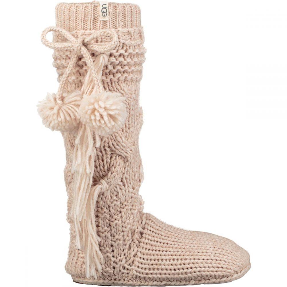 アグ レディース インナー・下着 ソックス【Cozy Slipper Sock】Cream Heather