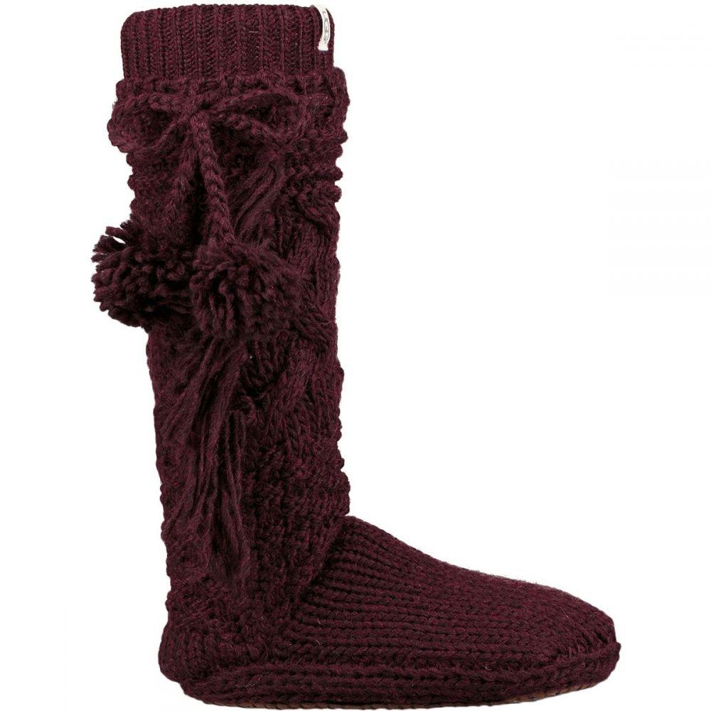 アグ レディース インナー・下着 ソックス【Cozy Slipper Sock】Port Heather