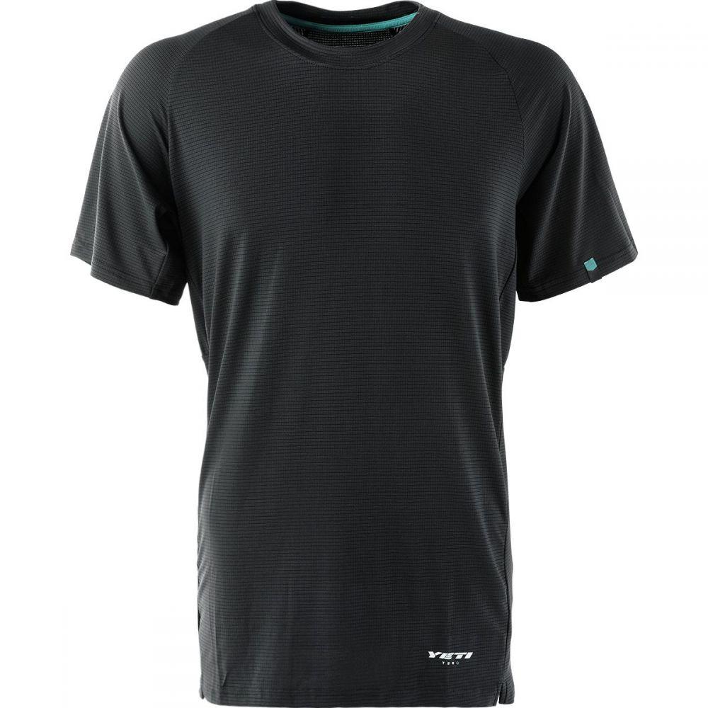 イエティーサイクル メンズ 自転車 トップス【Turq Air Short - Sleeve Jerseys】Black