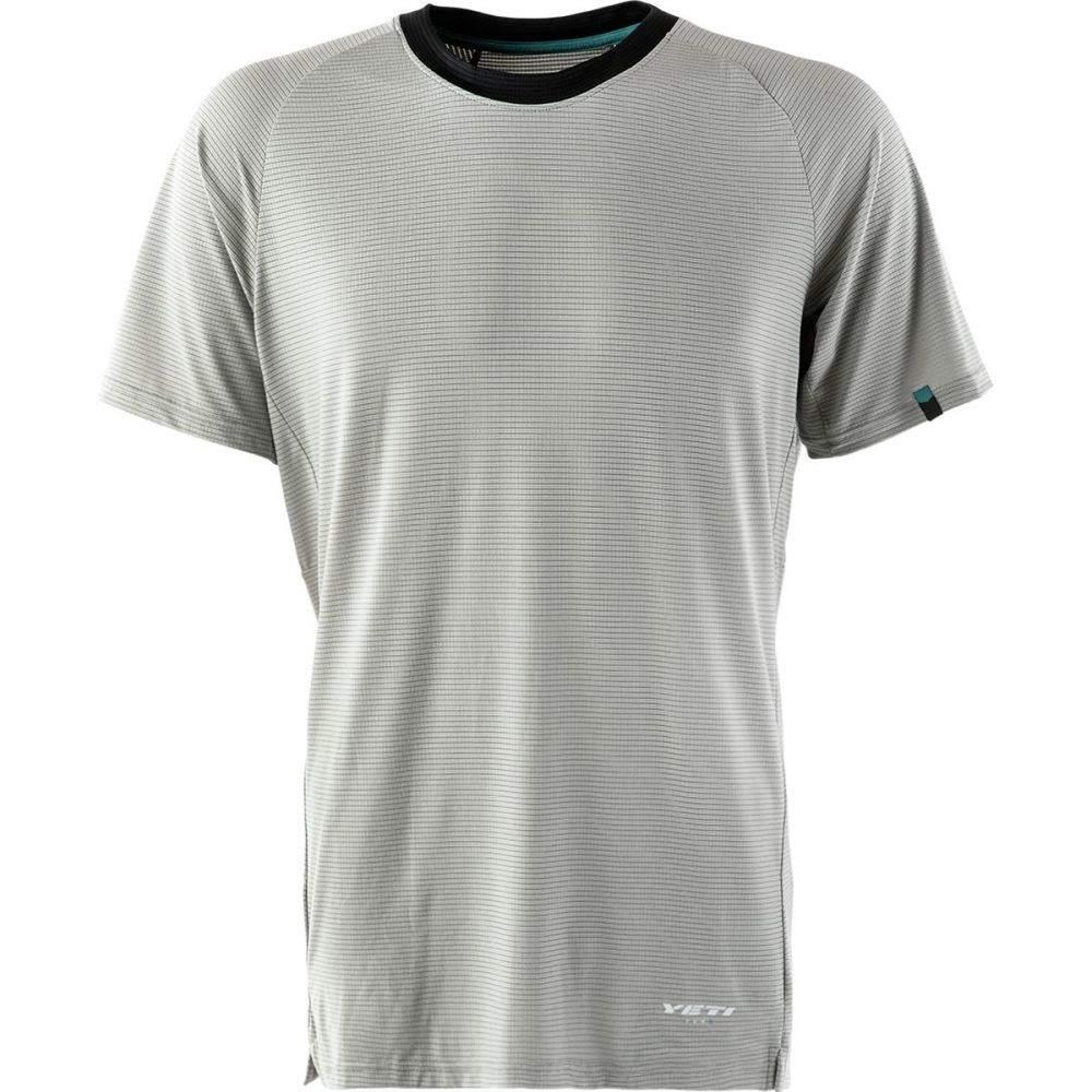 イエティーサイクル メンズ 自転車 トップス【Turq Air Short - Sleeve Jerseys】Light Gray, ヴィレコ:9d245dde --- onlinesoft.jp