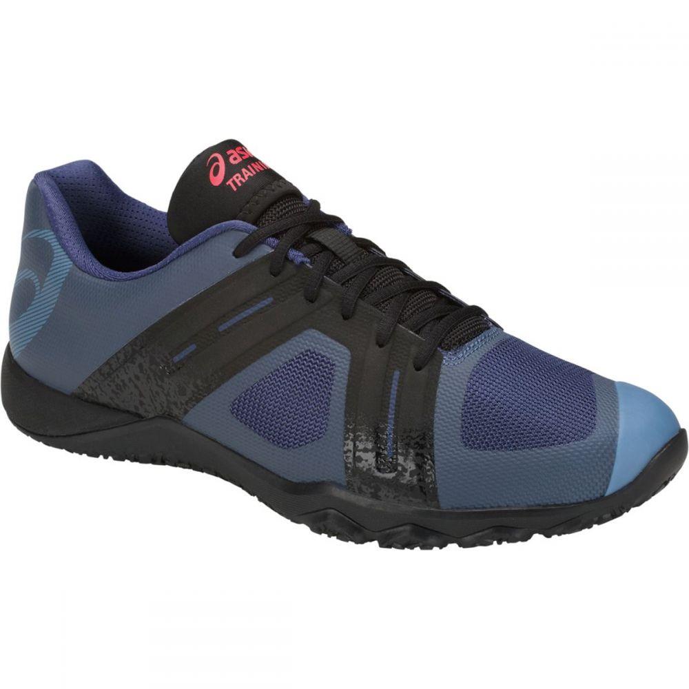 アシックス メンズ ランニング・ウォーキング シューズ・靴【Conviction X 2 Shoes】Deep Ocean/Black