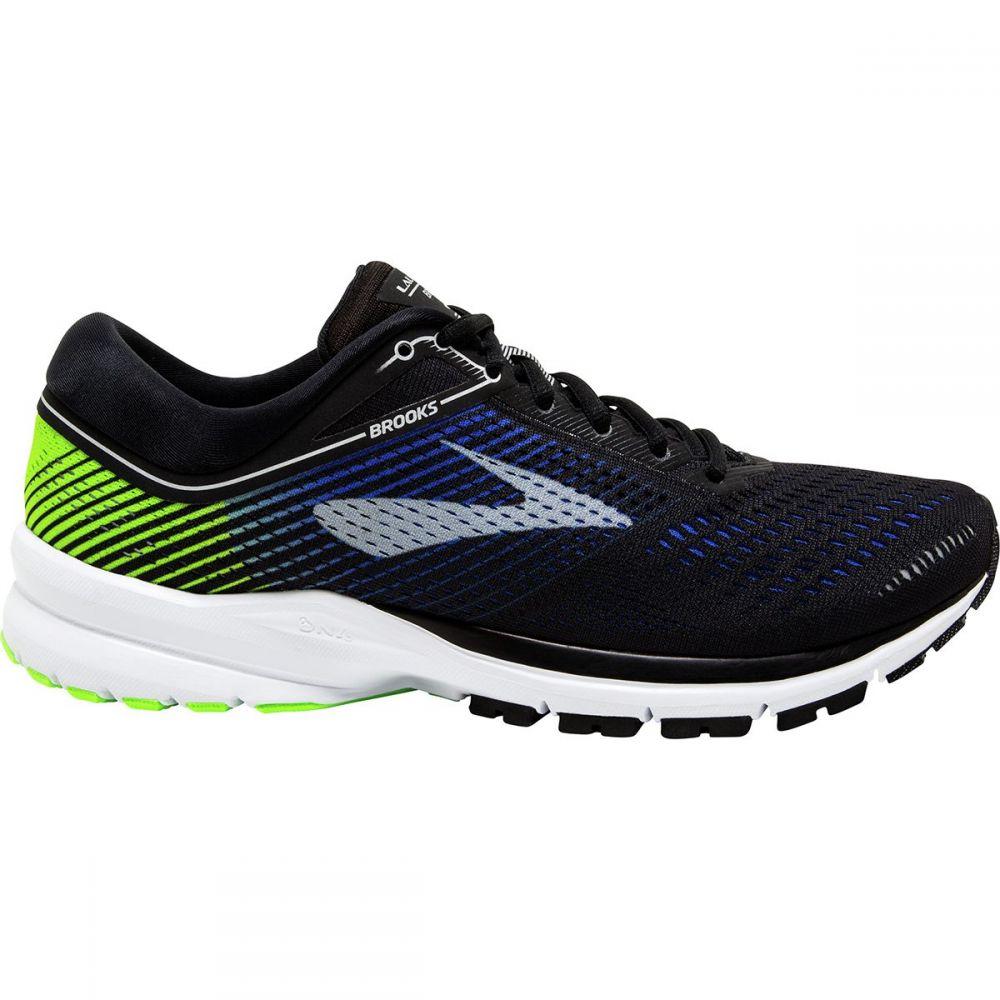 ブルックス メンズ ランニング・ウォーキング シューズ・靴【Launch 5 Running Shoes】Black/Blue/Green