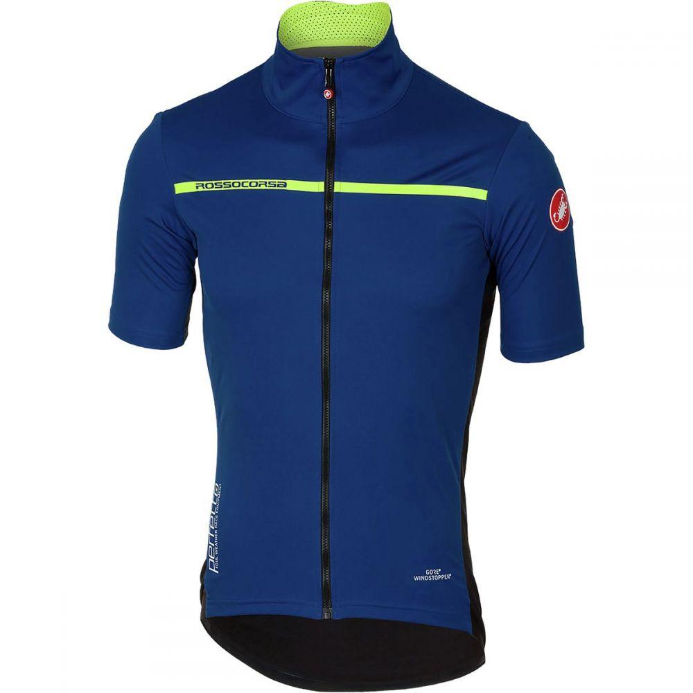 カステリ メンズ 自転車 トップス【Perfetto Light 2 Short - Sleeve Jerseys】Ceramic Blue