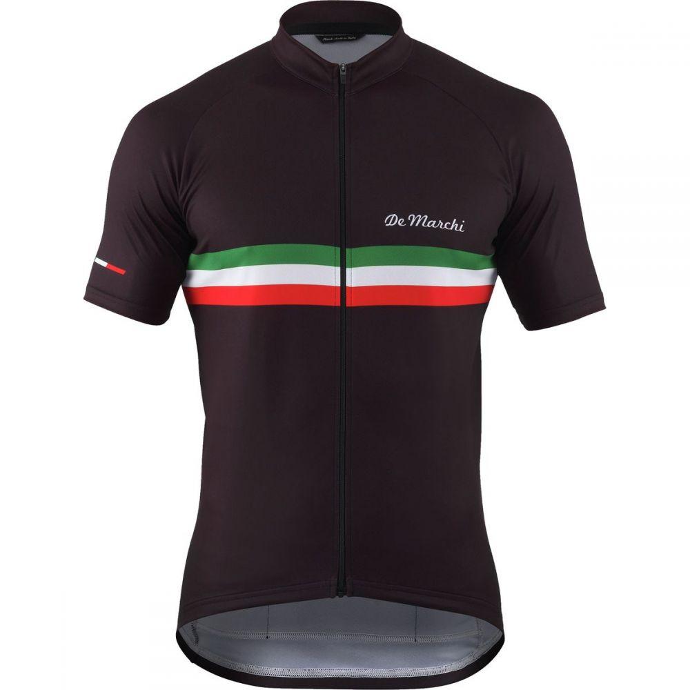 デマルキ メンズ 自転車 トップス【PT Jersey - Short - Sleeves】Black