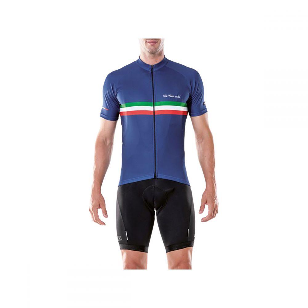 デマルキ メンズ 自転車 トップス【PT Jersey - Short - Sleeves】Royal