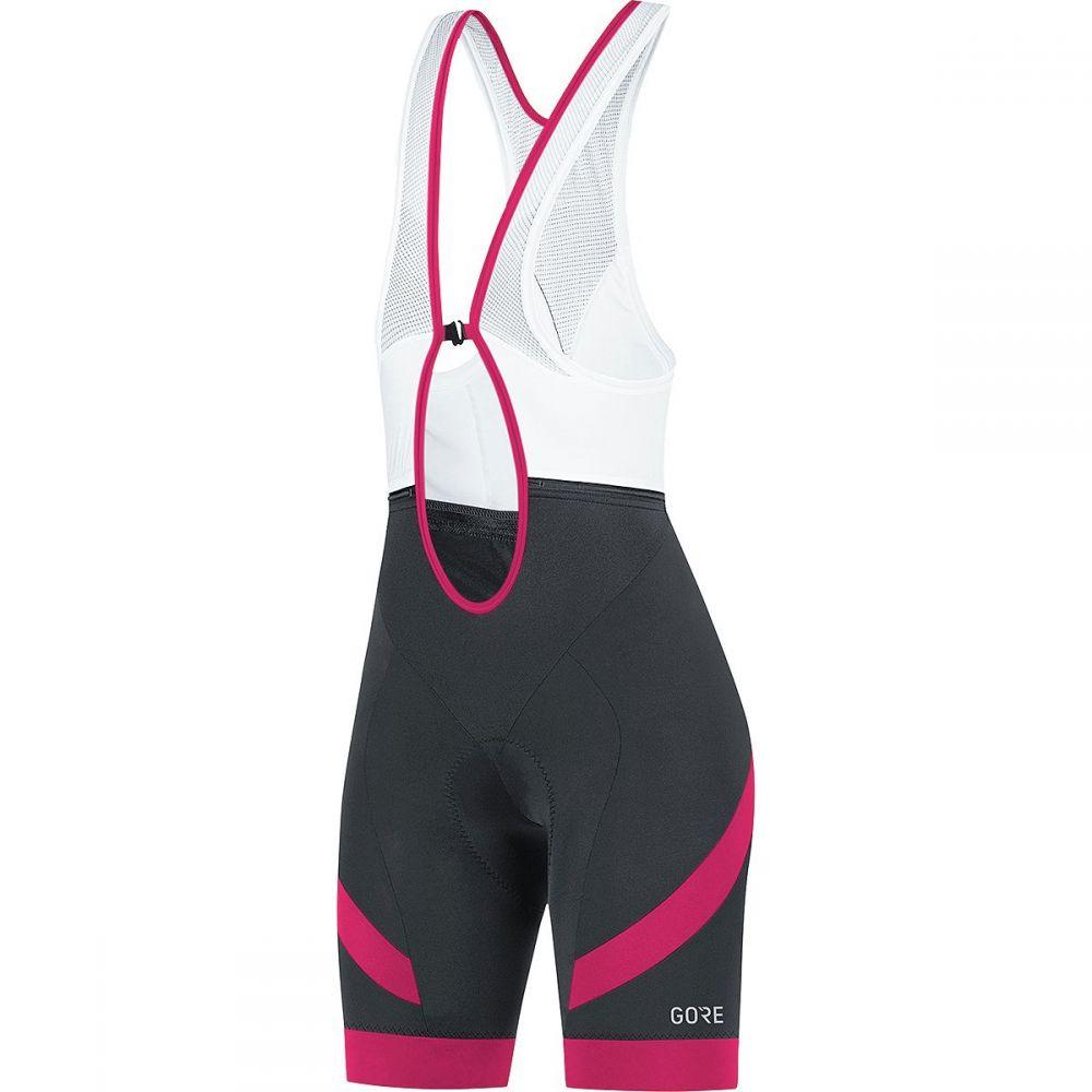 ゴアウェア レディース 自転車 ボトムス・パンツ【C5 Bib Shorts】Black/Jazzy Pink