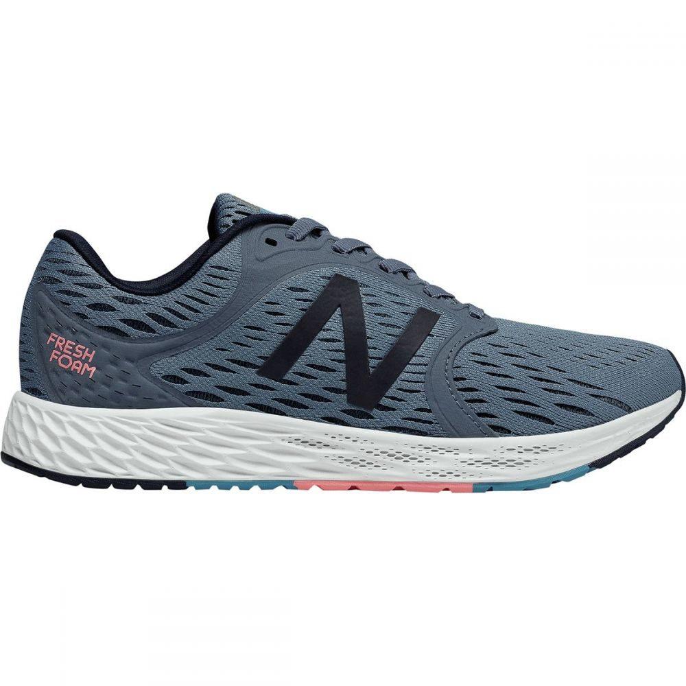 ニューバランス レディース ランニング・ウォーキング シューズ・靴【Fresh Foam Zante v4 Running Shoe】Deep Porcelain Blue/Pigment/White Munsell