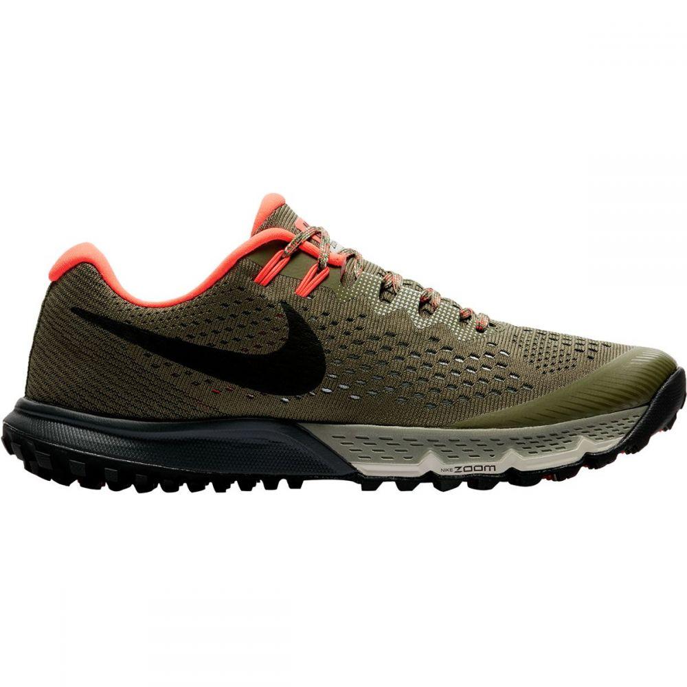 ナイキ メンズ ランニング・ウォーキング シューズ・靴【Air Zoom Terra Kiger 4 Trail Running Shoes】Medium Olive/Black-Light Bone