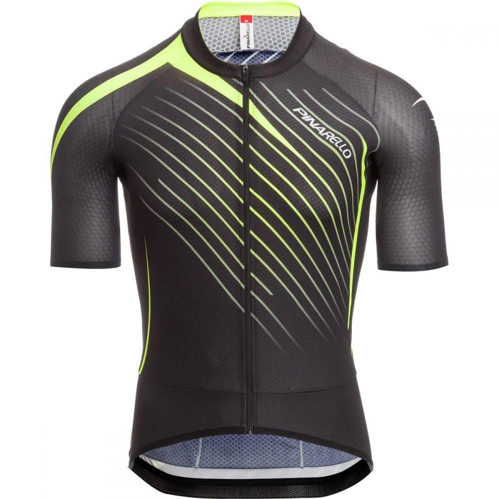 ピナレロ メンズ 自転車 トップス【Tour Jerseys】Black/Yellow