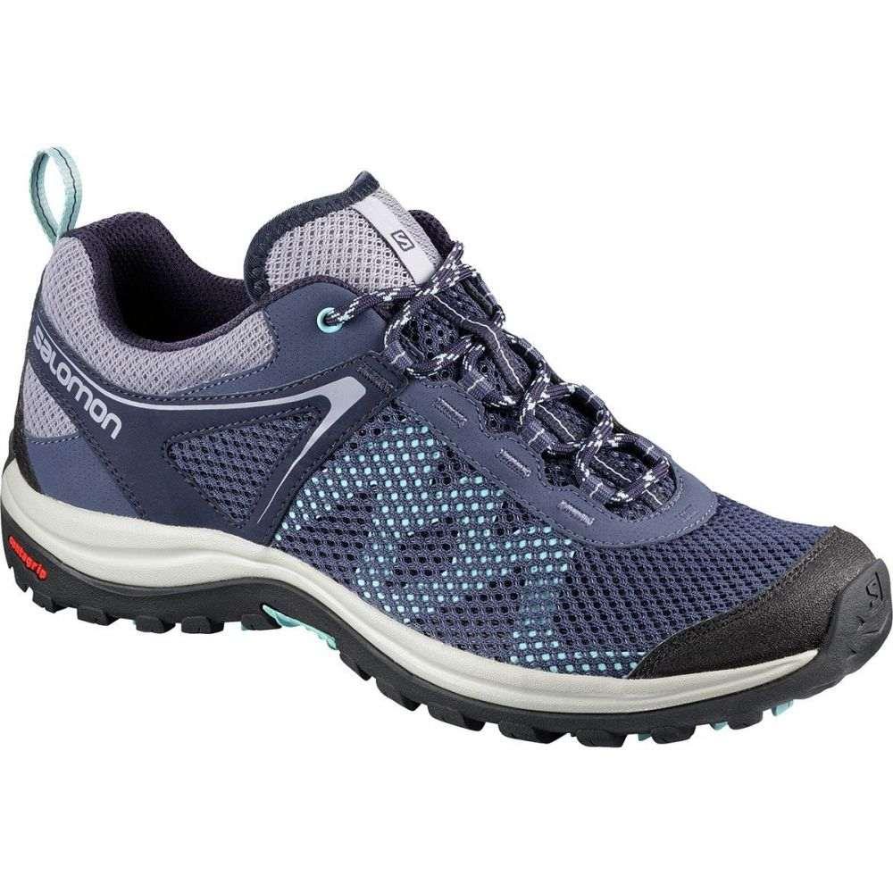 サロモン レディース ハイキング・登山 シューズ・靴【Ellipse Mehari Hiking Shoe】Crown Blue/Evening Blue/Canal Blue