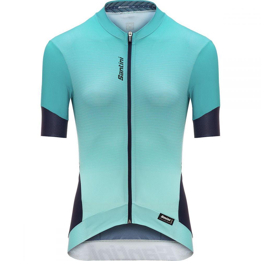 サンティーニ レディース 自転車 トップス【Queen 2.0 Jersey】Aqua