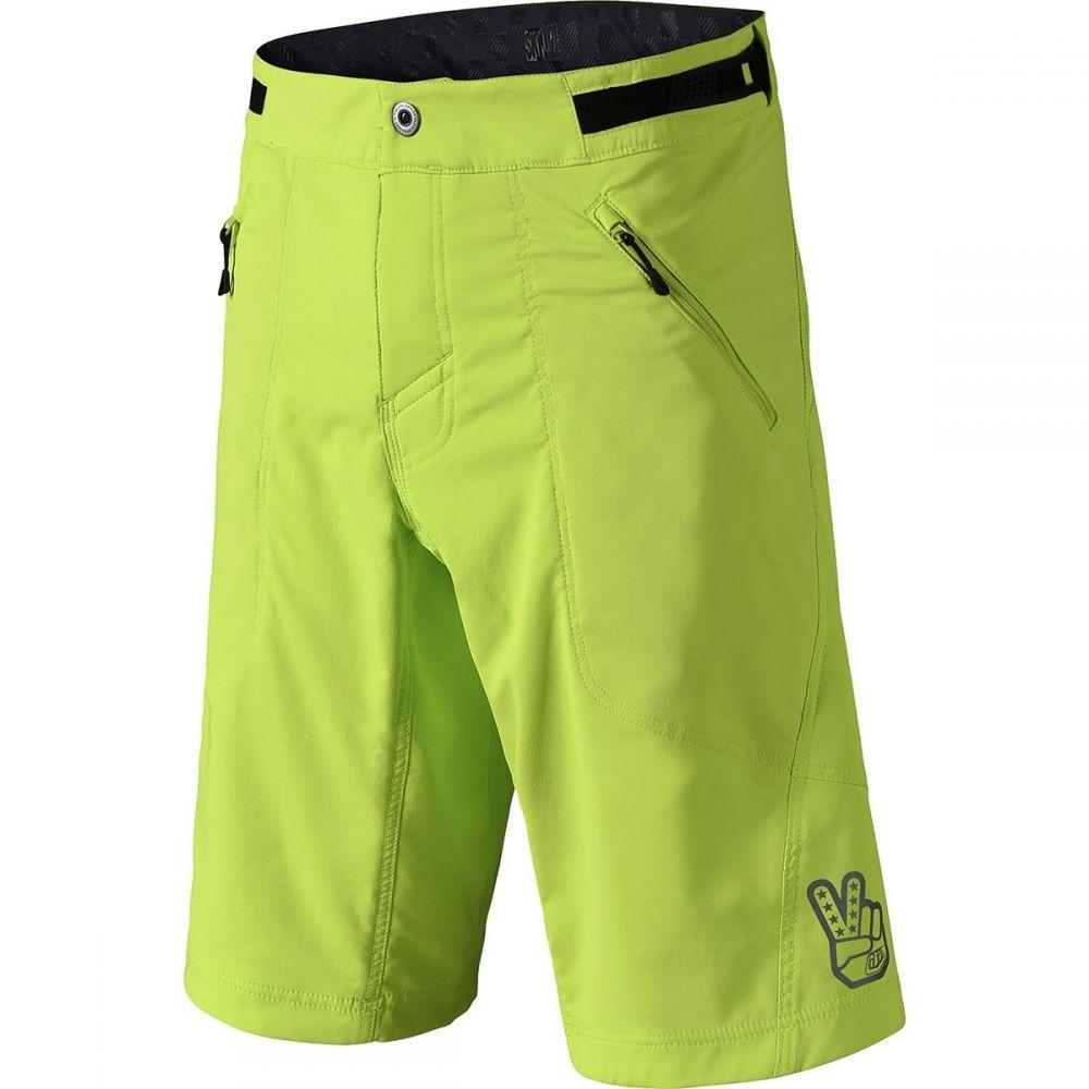 トロイリーデザイン メンズ 自転車 ボトムス・パンツ【Skyline Shorts】Lime