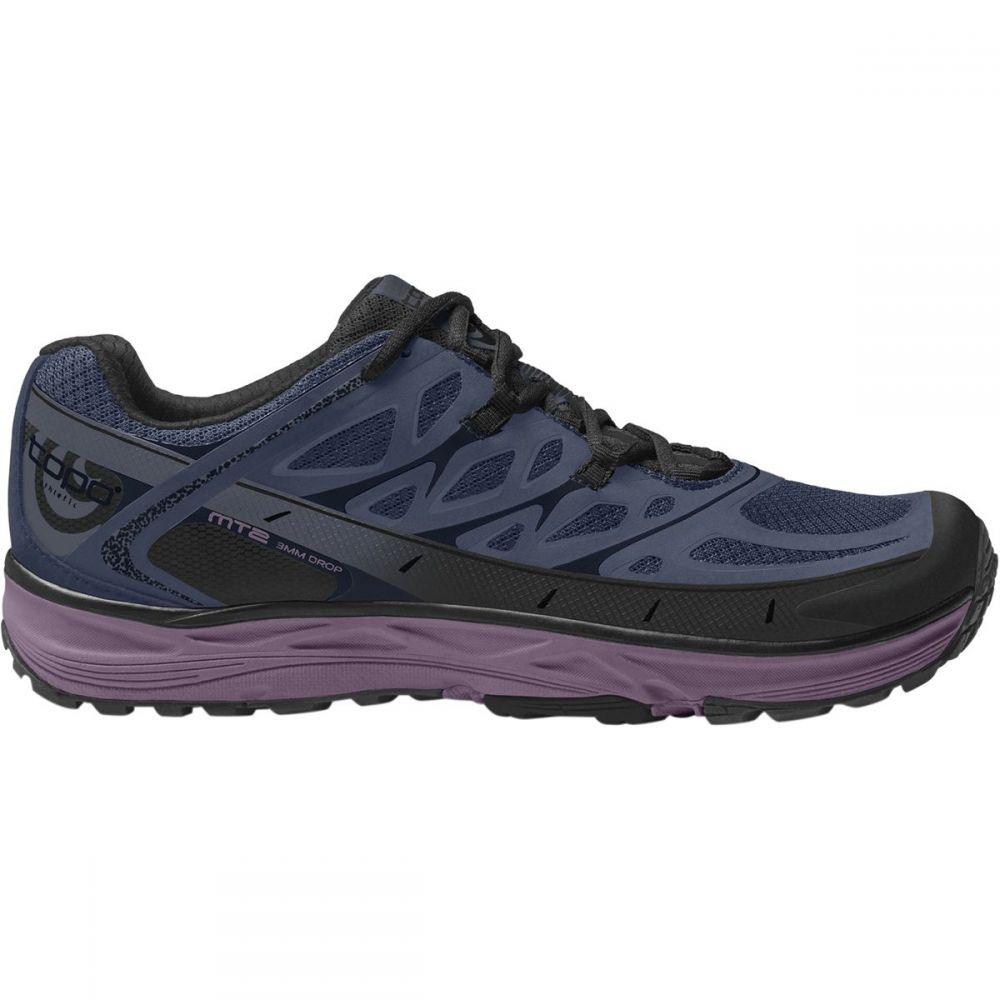 トポ アスレチック レディース ランニング・ウォーキング シューズ・靴【MT - 2 Trail Running Shoe】Blue/Purple