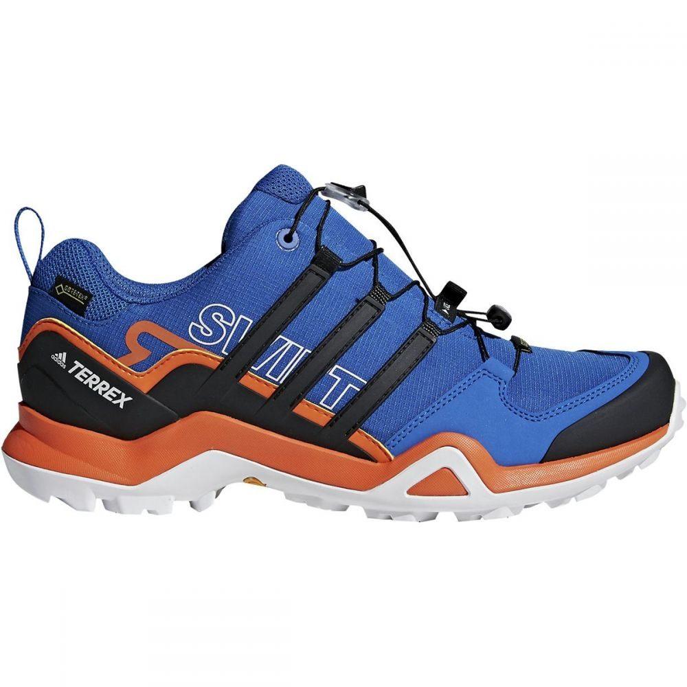 アディダス メンズ ハイキング・登山 シューズ・靴【Terrex Swift R2 GTX Hiking Shoes】Raw Steel/Black/Orange