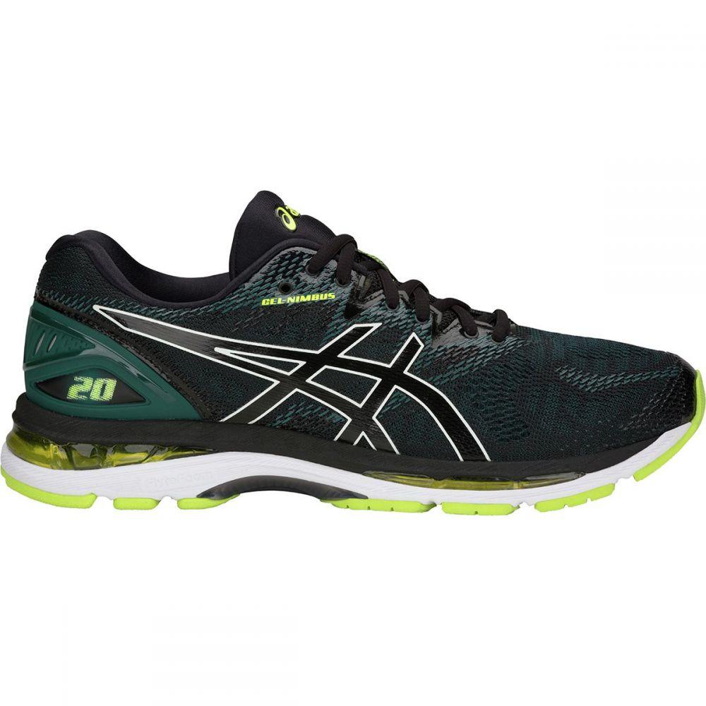 【逸品】 アシックス メンズ Running ランニング 20・ウォーキング シューズ・靴【Gel - Lime Nimbus 20 Running Shoes】Black/Neon Lime, 糸満市:20ac72b8 --- jf-belver.pt