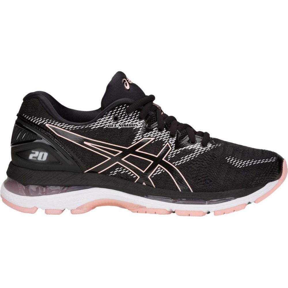 アシックス レディース ランニング・ウォーキング シューズ・靴【Gel - Nimbus 20 Running Shoe】Black/Frosted Rose