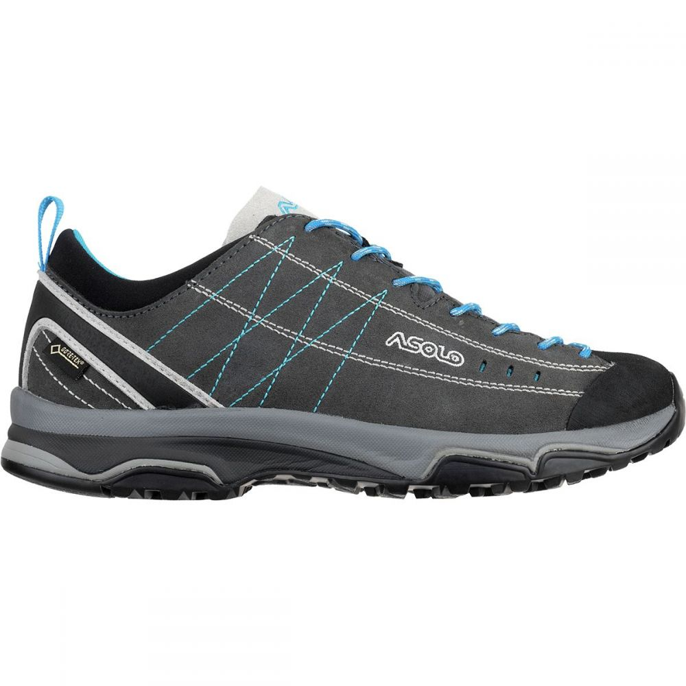 アゾロ レディース ハイキング・登山 シューズ・靴【Nucleon GV Hiking Shoe】Graphite/Silver/Cyan Blue