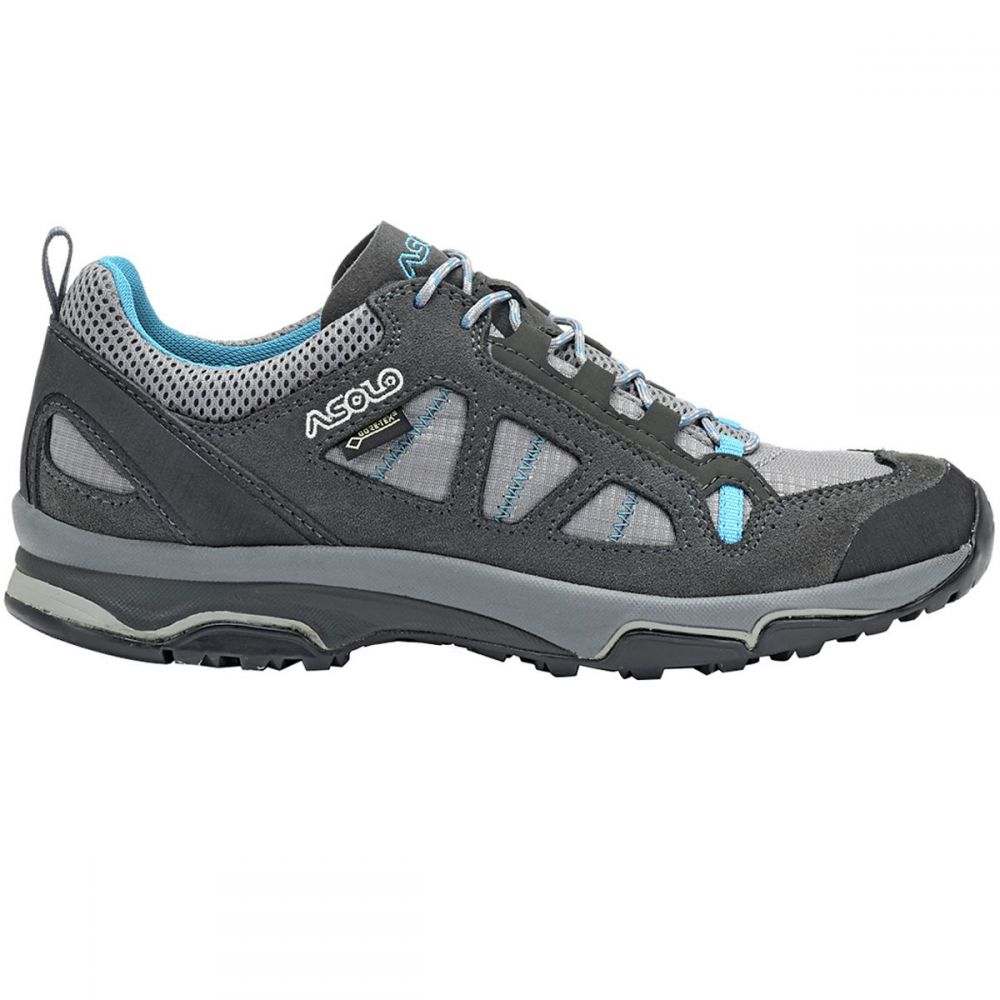 アゾロ レディース ハイキング・登山 シューズ・靴【Megaton GV Hiking Shoe】Graphite Stone/Cyan Blue