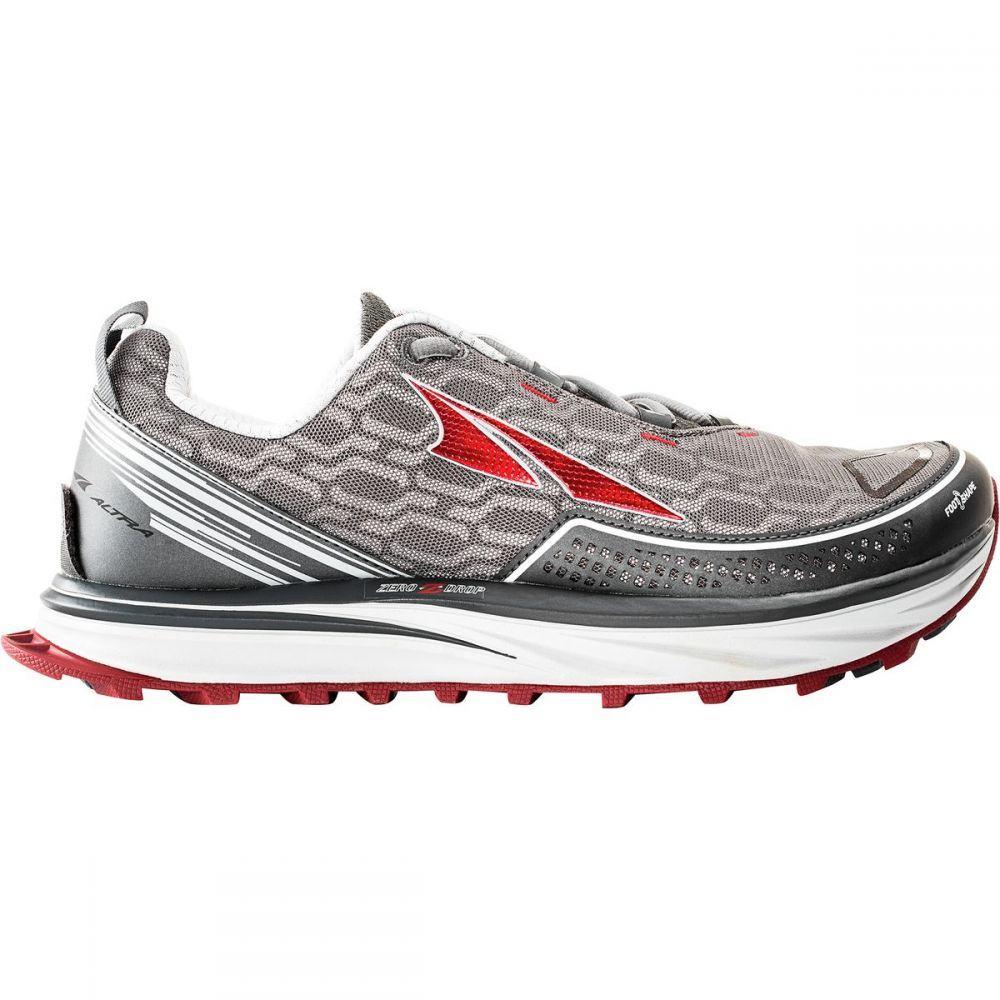 アルトラ メンズ ランニング・ウォーキング シューズ・靴【Timp IQ Smart Running Shoes】Charcoal/Red