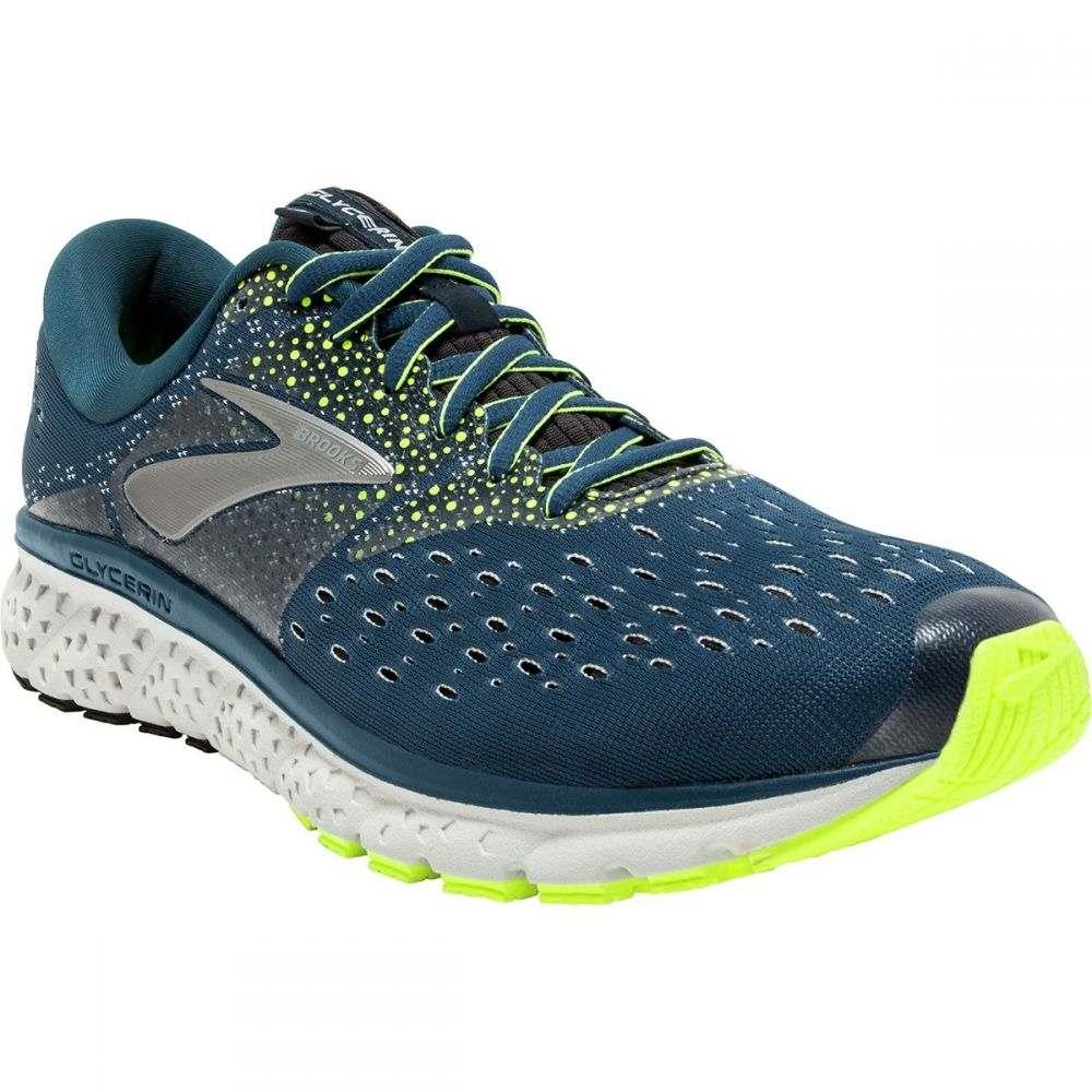 ブルックス メンズ ランニング・ウォーキング シューズ・靴【Glycerin 16 Running Shoes】Blue/Nightlife/Black