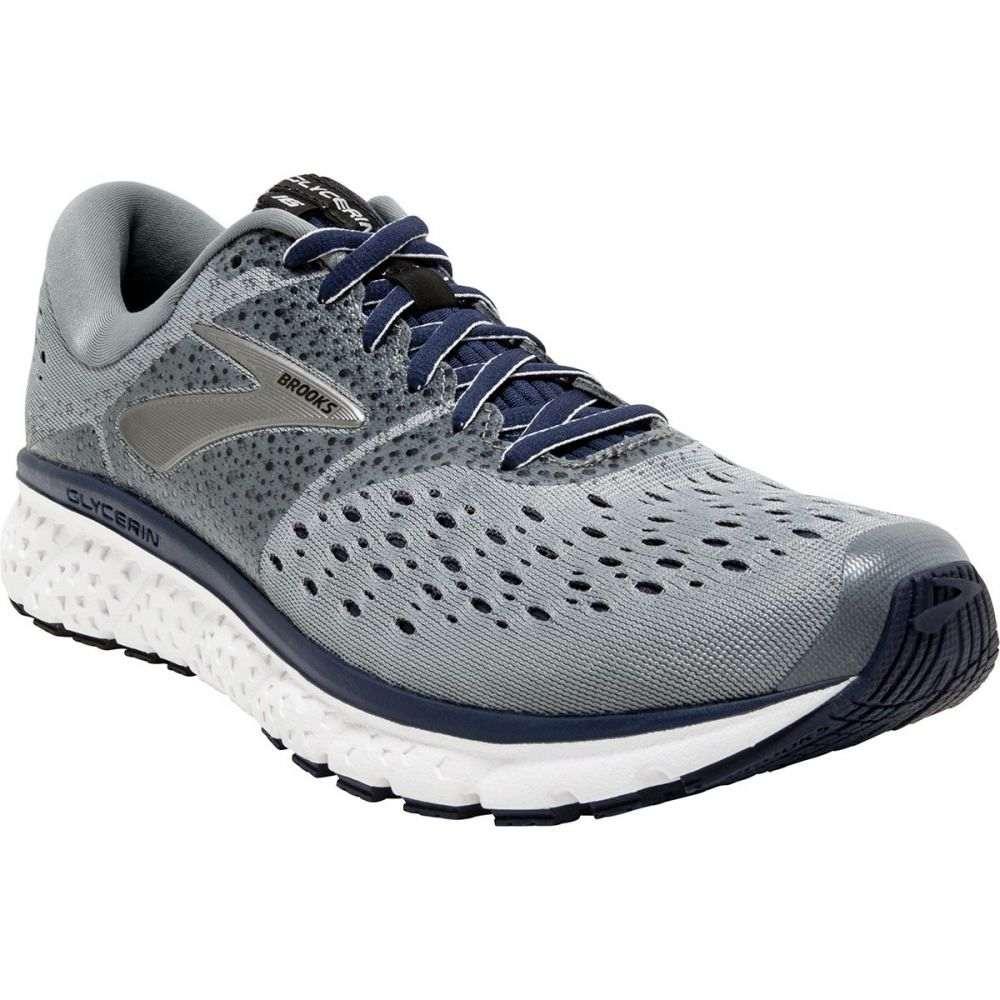 ブルックス メンズ ランニング・ウォーキング シューズ・靴【Glycerin 16 Running Shoes】Grey/Navy/Black