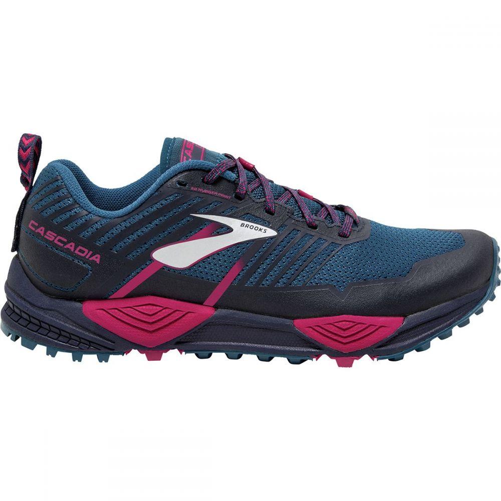 ブルックス レディース ランニング・ウォーキング シューズ・靴【Cascadia 13 Trail Running Shoe】Ink/Navy/Pink
