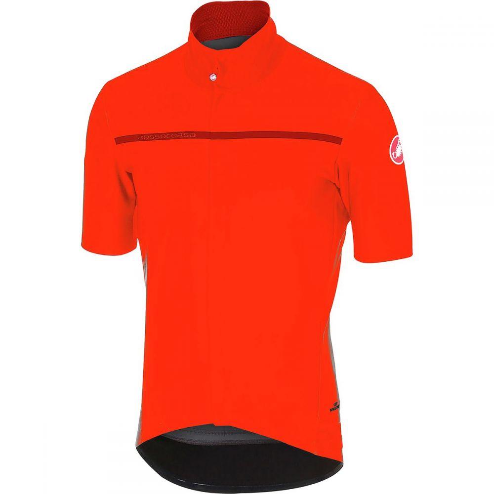 カステリ メンズ 自転車 トップス【Gabba 3 Short - Sleeve Jerseys】Orange
