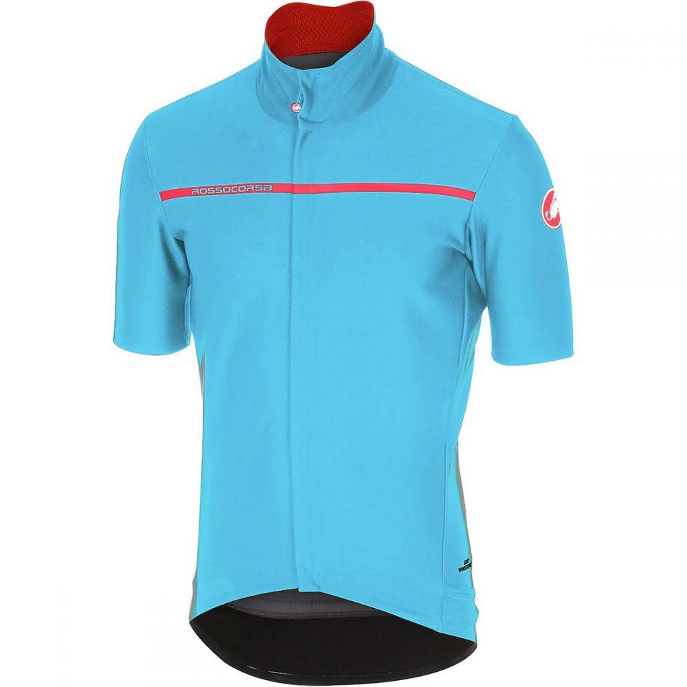 カステリ メンズ 自転車 トップス【Gabba 3 Short - Sleeve Jerseys】Sky Blue