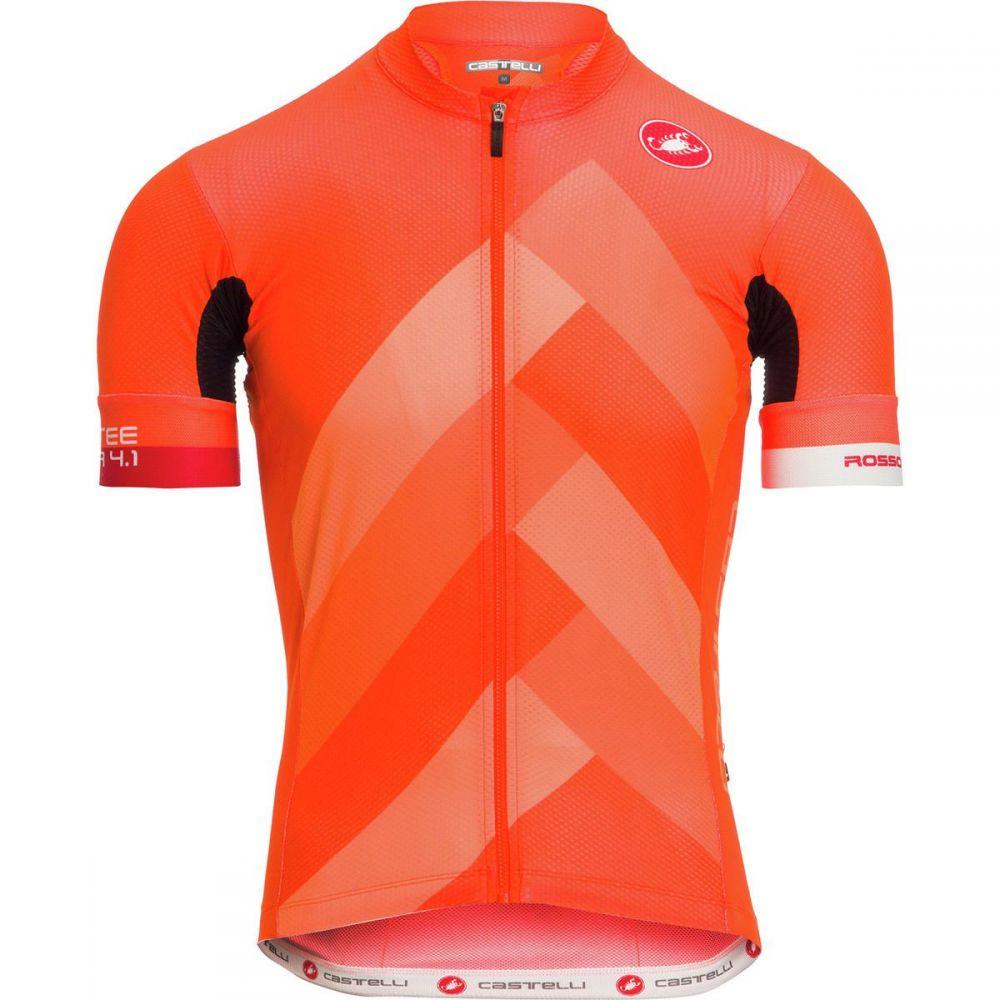 カステリ メンズ 自転車 トップス【Free AR 4.1 Limited Edition Jerseys】Orange